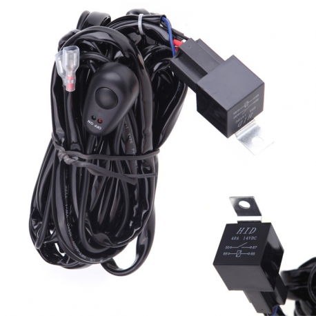 Câble relais avec interrupteur pour rampe et barre de LEDS Next-Tech®