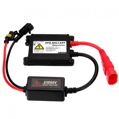 Ballast xenon slim 35W de rechange XPO™ anti-erreur Next-Tech®