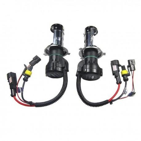 Ampoules bixénon H4 55W de rechange Next-Tech® - Vendues par paire
