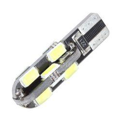 Ampoules veilleuses à LED W5W T10 3W CANBUS - Blanc froid