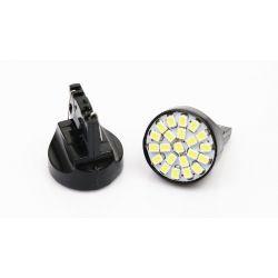 Ampoules veilleuses T20 à LED type W21W couleur blanc 3W