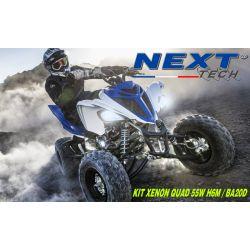 Kit xenon quad feux de route et feux de croisement H6m Next-Tech®