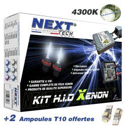Kit xenon Next-Tech® D2S 35W XPO™ slim ballast anti erreur