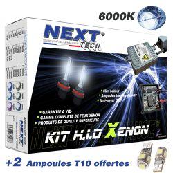 Kit xenon Next-Tech® H3 35W XPO™ slim ballast anti erreur