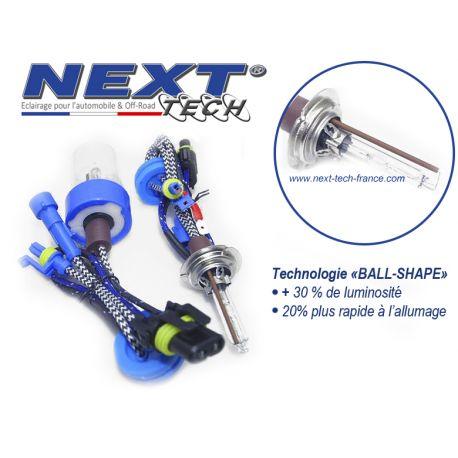 Ampoule xenon haut de gamme H7X 75W Next-Tech® - Vendues par paire