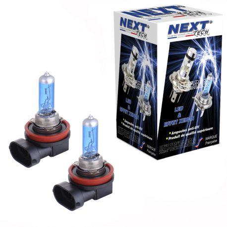 Ampoule effet xenon H11 100W 6000K Next-Tech®