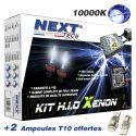 Kit xenon moto slim ballast H7 et H11 55W XPO™ anti erreur Next-Tech®