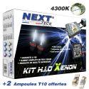 Kit xenon moto slim ballast H11 55W XPO™ anti erreur Next-Tech®