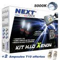 Kit xenon moto slim ballast H7 et H1 55W XPO™ anti erreur Next-Tech®