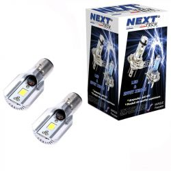 Ampoules BA20D LED 20W blanc - Next-Tech®