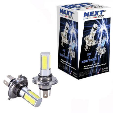 Ampoules H4 30W LED 270° blanc - Next-Tech®