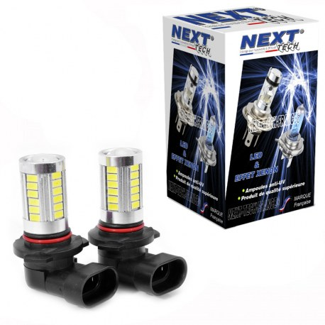 Ampoules HB3 9005 LED 20W blanc - Next-Tech®