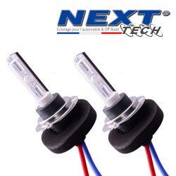 Ampoule xenon 100W haut de gamme metal H7 Next-Tech® de rechange - Vendues par paire