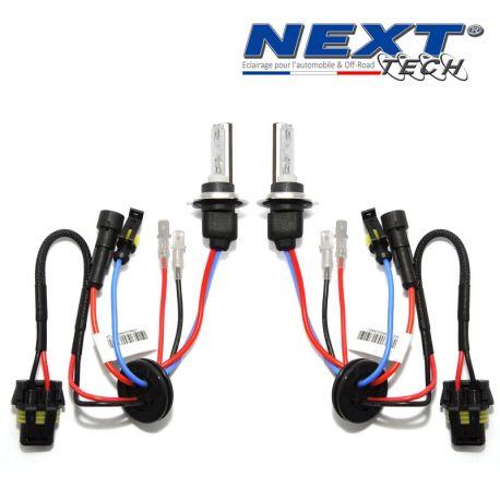 Ampoules xenon courtes H7C 75W Next-Tech® haut de gamme metal & ceramique