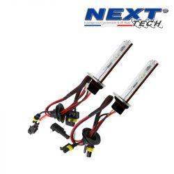 Ampoule xenon haut de gamme metal H1R 55W Next-Tech® de rechange - Vendues par paire