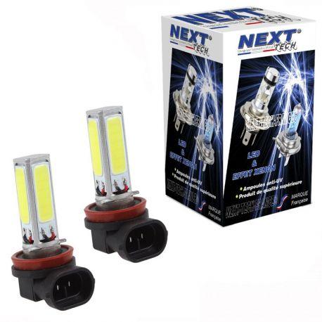 Ampoules H8 LED 30W 270° blanc - Next-Tech®