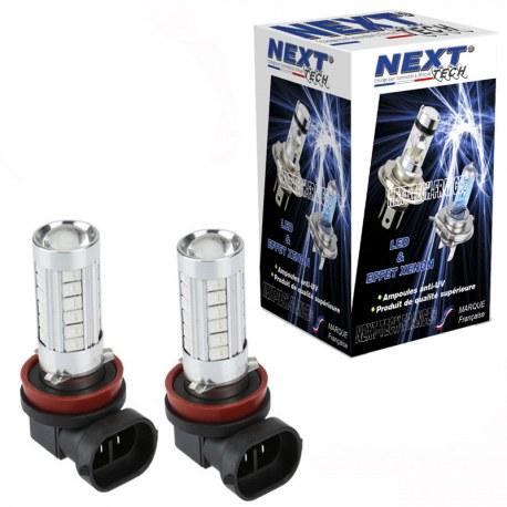 Ampoules LED H8 20W blanc - Next-Tech®