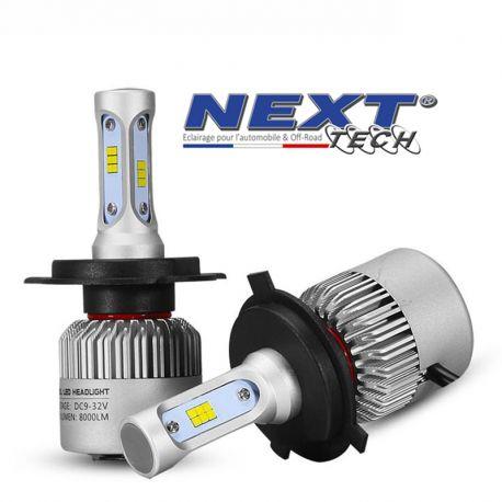 Ampoule LED ventilé H4 75W blanc - Next-Tech®