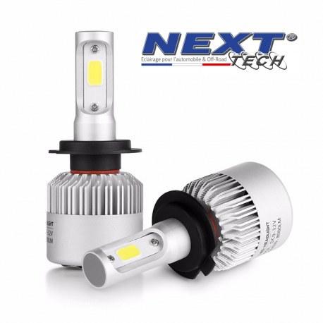 Ampoule LED ventilé H3 75W blanc - Next-Tech®