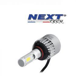 Ampoule LED moto ventilée HB3 9005 75W blanc - Next-Tech®