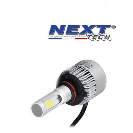 Ampoule LED moto ventilée HB4 9006 75W blanc - Next-Tech®