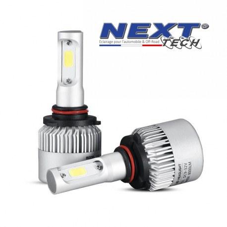 Ampoules LED ventilées HB3 9005 75W blanc - Next-Tech®