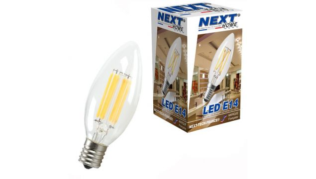 Ampoule La E14 Home® Tech Next Led France Pour Maison 220v QrsCtxhd