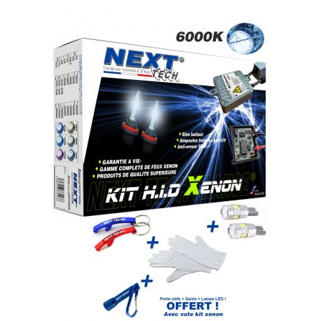 Kit xenon haut de gamme garantie à vie CANBUS Next-Tech® D2S 35W MC2™
