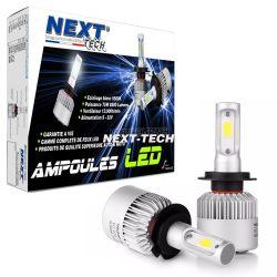Kit ampoules LED ventilées camion 24V H7 75W haut de gamme