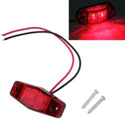 Feu de gabarit LED 12v pour remorque et voiture - Rouge