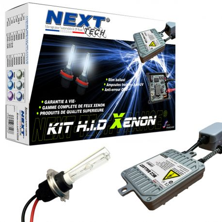 Kit HID xenon moto haut de gamme H3 35W MC2™ - Multipléxé