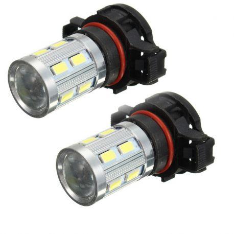 Ampoules veilleuses PSX24W H16 à LED CANBUS - Blanc