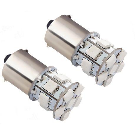 Ampoules LED PY21W 1156 BAU15S 21W Feu stop - Rouge