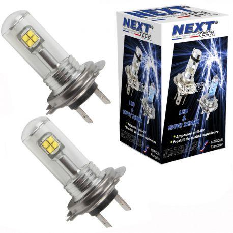 Ampoules LED H7 40W - Puissante - Blanc - NEXT-TECH®