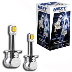 Ampoules LED H3 40W - Puissante - Blanc - NEXT-TECH®