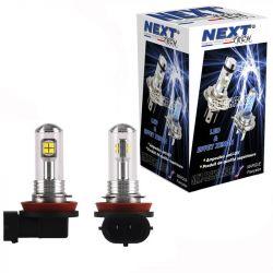 Ampoules LED H11 40W - Puissante - Blanc - NEXT-TECH®