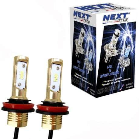 Ampoules HB3 9005 LED 50W - Ultra lumineuses - Blanc - NEXT-TECH®