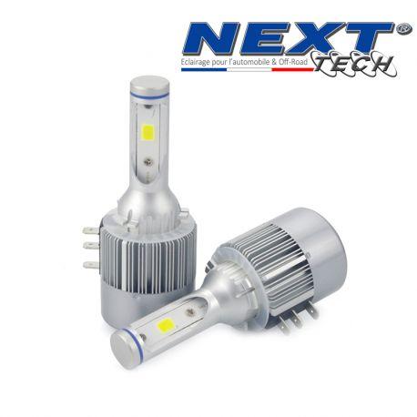 Ampoules LED ventilés H15 55W blanc - Next-Tech®