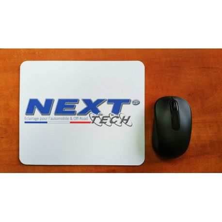 Tapis de souris souple - blanc - Next-Tech®