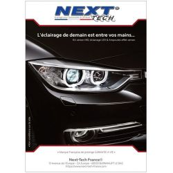 Poster A0 Next-Tech® - Voiture - 1180 x 840 mm