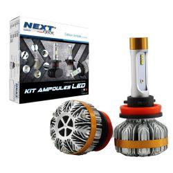 Ampoules LED H11 55W CANBUS ventilées haut de gamme Next-Tech®