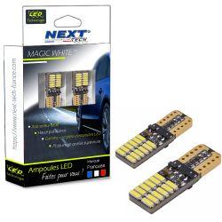 T10 W5W LED Canbus - anti erreur ODB - plates