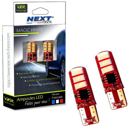 LED T10 W5W canbus - anti erreur ODB - Silicone
