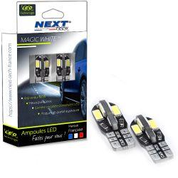 T10 W5W LED Canbus anti-erreur ODB - Blanc 6000K