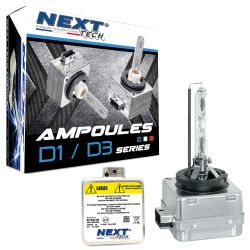 Ampoules xenon D1S 55W Next-Tech® - Vendues par paire
