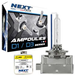 Ampoules D1S-X 55W quick start haut de gamme - Next-Tech®