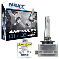 Ampoules D3S 55W xenon Next-Tech® - Vendues par paire