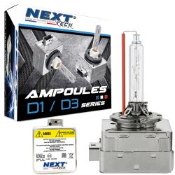 Ampoules D3S-X 55W quick start haut de gamme - Next-Tech®