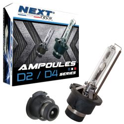 Ampoules D2S 55W xenon Next-Tech® - Vendues par paire