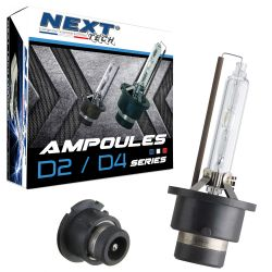 Ampoules D4S 55W xenon Next-Tech® - Vendues par paire